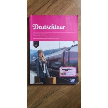 Deutschtour 2 podręcznik z ćwiczeniami