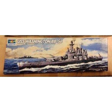 Okręt 1/700 BB-56 Washington