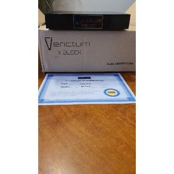 Verictum  X Block  -- pasywny filtr EMI/RFI