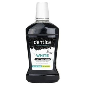 Dentix by Tołpa white + aktywny węgiel płukanka