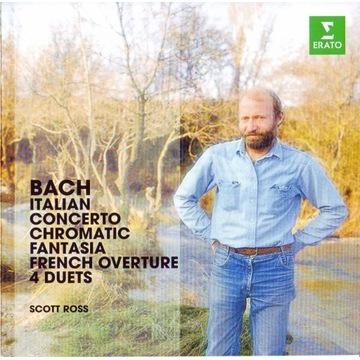 Scott Ross CD Bach Italian Concerto i inne Erato