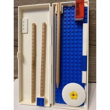 Piórnik LEGO * 3 ołówki * gumka * długopis * tempe