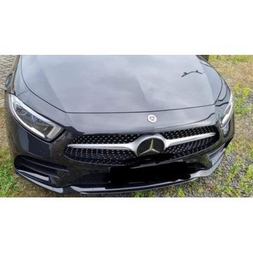 Przód W257 Mercedes CLS MASKA BLOTNIK ZDERZAK  18r