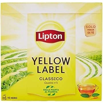lipton Włoska edycja oryginalne pudełko 50szt.