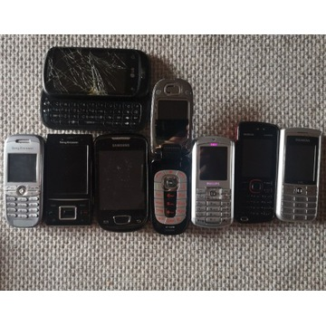 Stare telefony - Nokia, Philips, Samsung, LG, Sony