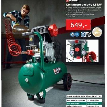 Kompresor olejowy 1,8 kW