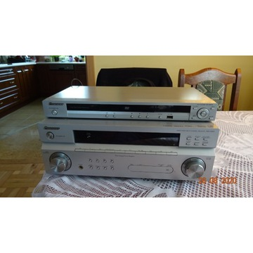 Zestaw kina Pioneer VSX 818V Ampli, DV - 410Vodtw.