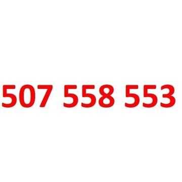 507 558 553 orange złoty numer 555 5555 55555