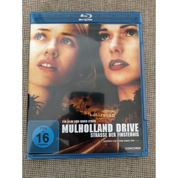 Mulholland Drive David Lynch Blu-ray stan idealny