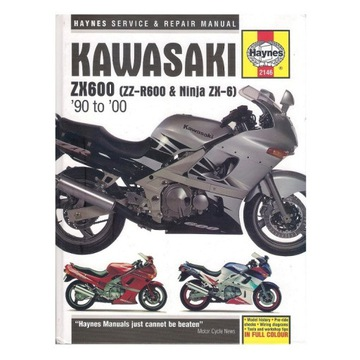 instrukcja - Kawasaki ZX600 (ZZR600, Ninja ZX-6)