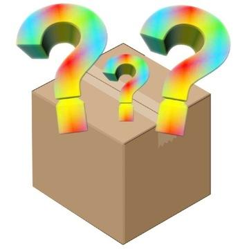 Mystery box , herbata , książki