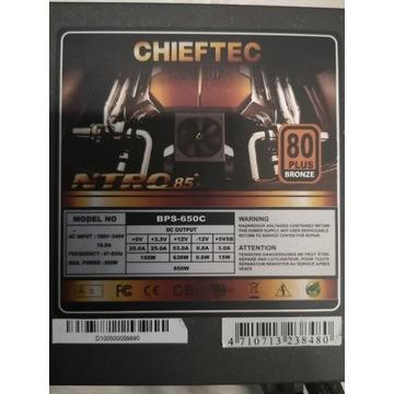 Zasilacz Chieftec BPS-650C