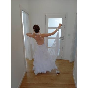 suknia do standardu, nowa, biała, niezdobiona, EDC