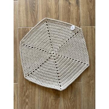 Dywanik łazienkowy handmade