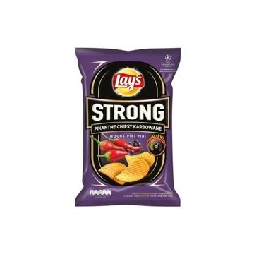 Lays Strong Mocne Piri Piri Chipsy Jedyna paczka