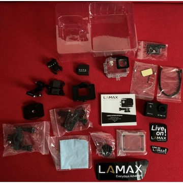 Kamera sportowa LAMAX X8 Electra stan bdb, dodatki
