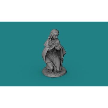 Figurka/posążek Marii lub Jezusa 40mm - 1:48