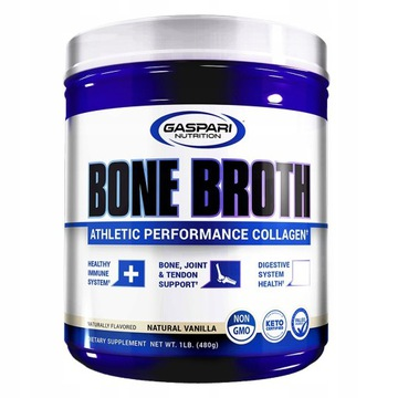 GASPARI - BONE BROTH - Kolagen, aminokwasy
