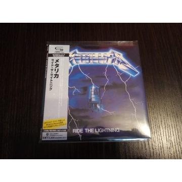 Metallica Ride The Lightning Japan 2010(UICY-94663
