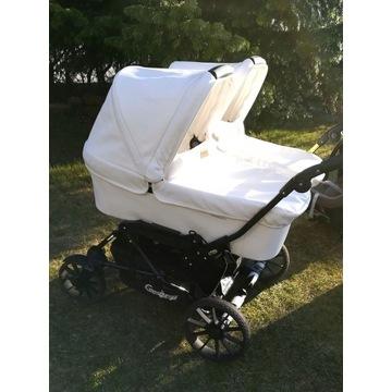 Wózek EMMALJUNGA DOUBLE VIKING Lux Wyposażenie