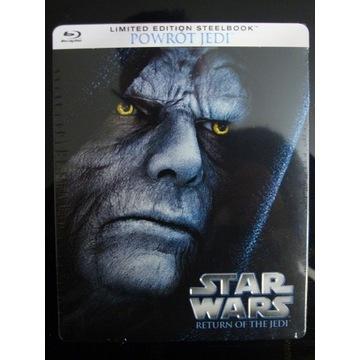 STAR WARS cz.VI Powrót Jedi - BD SteelBook (NOWY)