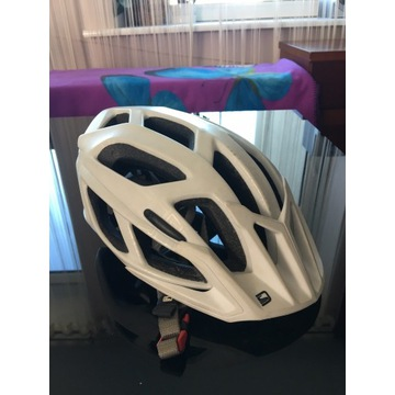 Ładny Kask rowerowy biały damski męski Scott XS