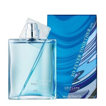 ORIFLAME perfumy So Fever Together Him 75ml męskie