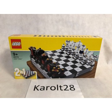 LEGO 40174 Gry - Zestaw szachów z motywem LEGO