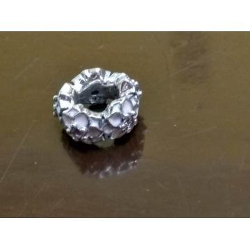 charms srebro do branzoletki
