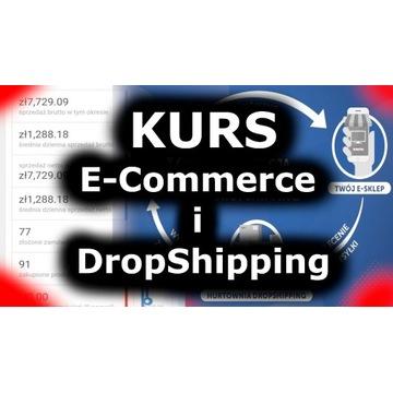Kurs E-Commerce, Dropshipping   Sklep Internetowy