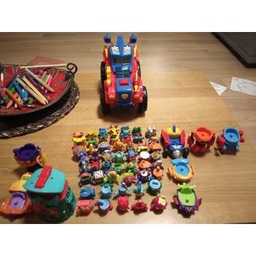 50 szt. Zings +samochód +domki +pojazdy