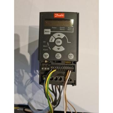 Danfoss Micro Drive FC 51 0,75 kW z demontażu