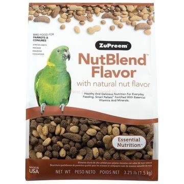 ZuPreem - NutBlend 1,5 kg (granulat orzechowy)