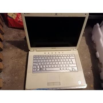Uszkodzony laptop sony vaio na cześci