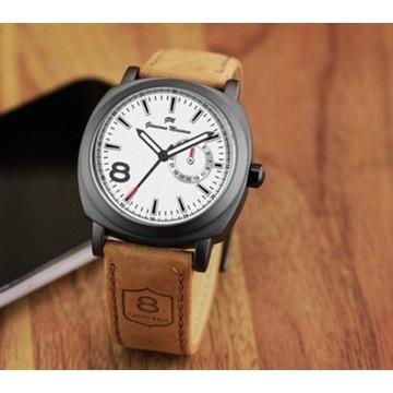 Klasyczny zegarek męski analogowy
