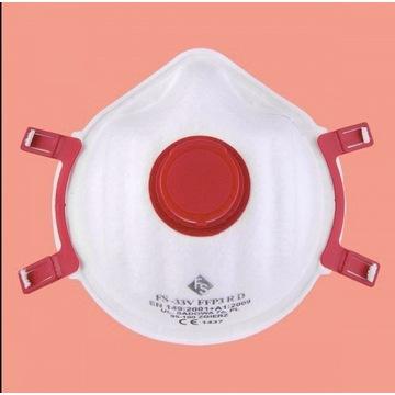 Półmaska ochronna FFP3/wielokrotnego użytku