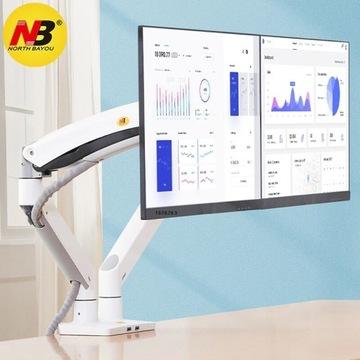NB F195A - gazowy uchwyt/statyw na 2 monitory (do
