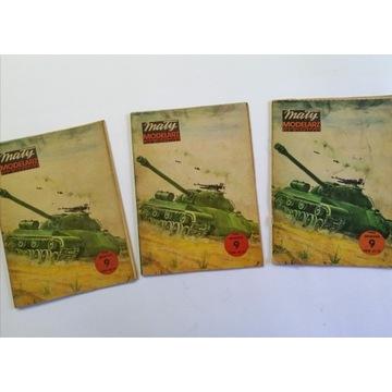 MM Mały modelarz 9/1982 9/82 Czołg IS 3 - 3x braki