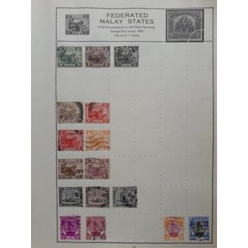 GB - kolonie angielskie - Federated Malay States