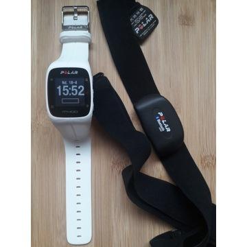 zegarek sportowy do biegania Polar m400