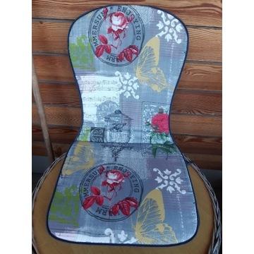 Komplet 2 pokrowców na krzesła
