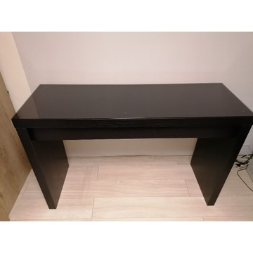 Toaletka MALM Ikea czarnobrązowa