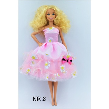 Ubranko dla lalki typu Barbie