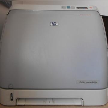 Drukarka HP Color LaserJet 2600n używana