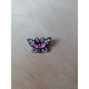 Wpinka przypinka motylek