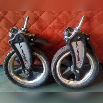 Kółka skrętne do wózka - łożyskowane z dętką
