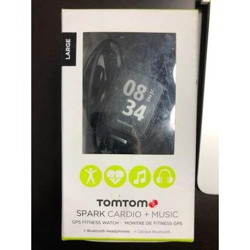 Zegarek TomTom Spark GPS CARDIO + Music
