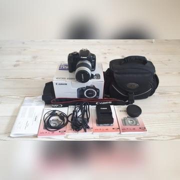 Canon EOS 450D Aparat fotograficzny z obiektywem