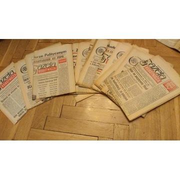 Gazeta Robotnicza 1980-1981 r.