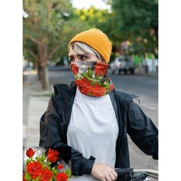 Komin na twarz Bandana chusta maska